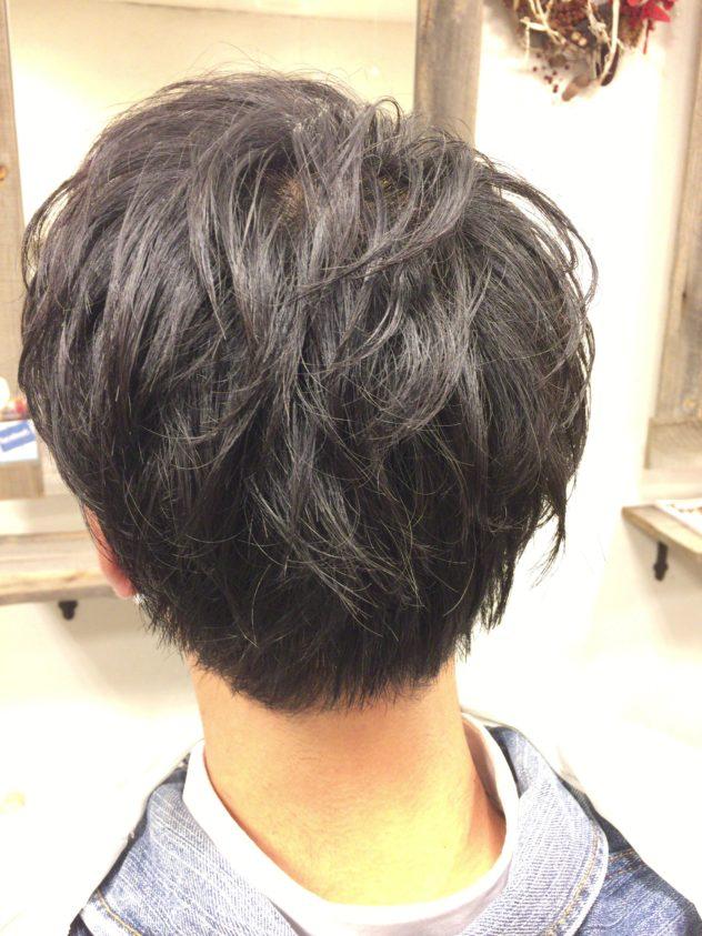 三鷹 美容室 VOICEhair メンズ パーマ