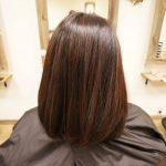 艶がすごい!傷ませないで白髪を染める方法。