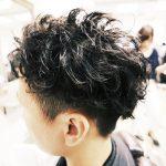 【メンズピンパーマ】直毛でもボリュームと動きが出るパーマ