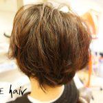 【メンズパーマ】直毛ヘアをやわらかい動きのある軽いスタイルへ