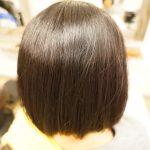 【縮毛矯正】くせ毛で広がりやすいボブの方へ