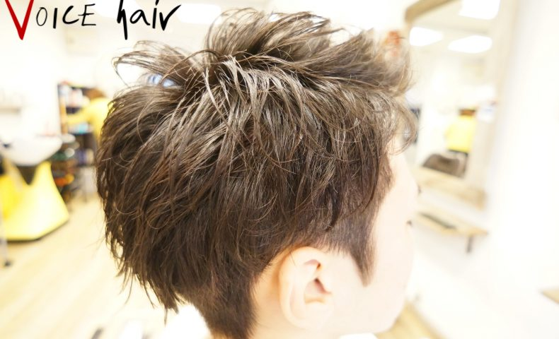三鷹 メンズ 男性 就職活動 就活 ヘアスタイル 髪型