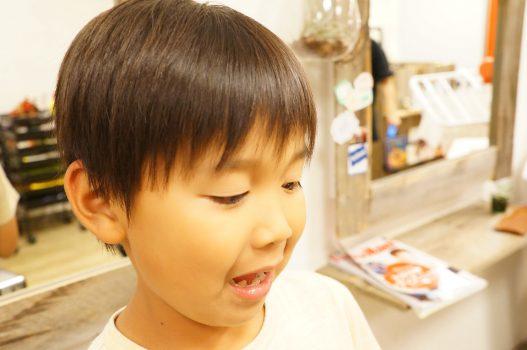 小学生 男の子 カット 美容室 美容院 子供 キッズ