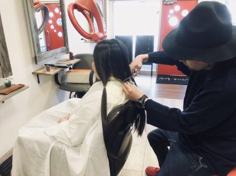 三鷹 武蔵野市 ヘアドネーション 髪の毛寄付