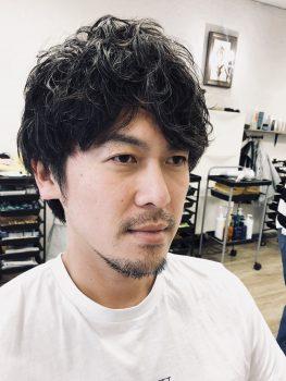 三鷹 武蔵野市 美容室 美容院 メンズパーマ パーマ メンズカット カット
