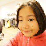 【キッズカット】美容師が娘の髪の毛切りました♫