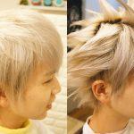 ファイナルファンタジーのクラウドの髪型を再現してみた。