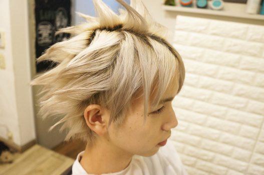 ff Ⅶ ファイナルファンタジー 7 クラウド 髪型 ヘアスタイル セット