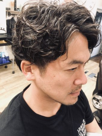 三鷹 武蔵野市 メンズパーマ パーマ 男性 男 ピンパーマ